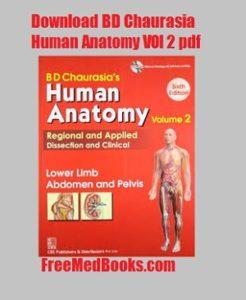 download human anatomy volume 2 pdf