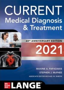 Current medical diagnosis and treatment 2021 pdf