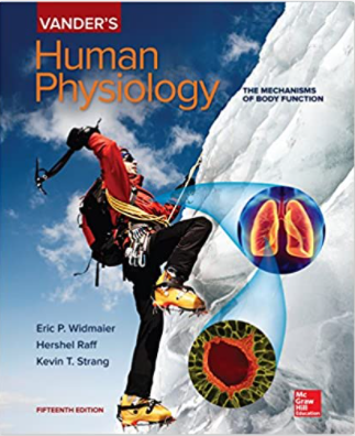 Vander's Human Physiology the mechanisms of body function pdf
