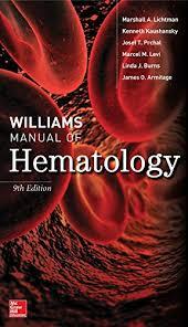 Williams Manual of Hematology pdf