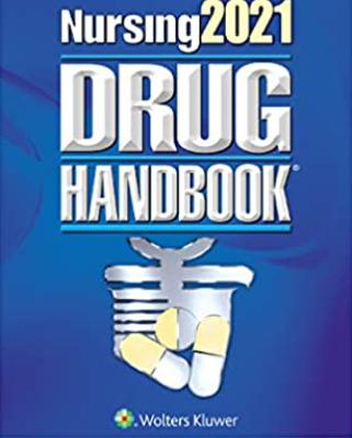 Nursing2121 drug handbook pdf