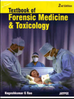 nagesh kumar rao forensic medicine and toxicology pdf