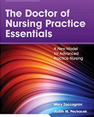 The doctor of nursing practice essentials pdf
