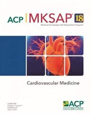 MKSAP 18 Cardiovascular Medicine PDF