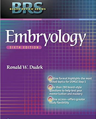 BRS Embryology 6th Edition PDF free