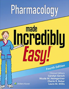 Pharmacology Made Incredibly Easy 4th Edition PDF