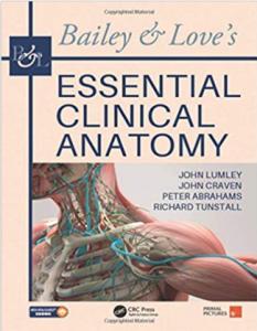 Bailey & Love's Essential Clinical Anatomy PDF Free