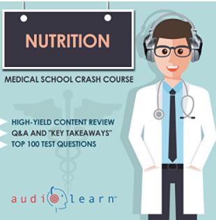 Nutrition Medical School Crash Course Audiobook PDF Free